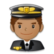 Man Pilot: Medium Skin Tone on Samsung Experience 8.5 (Galaxy Note S8)