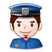 Man Police Officer on Samsung Experience 8.5 (Galaxy Note S8)