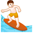 Man Surfing on Samsung Experience 8.5 (Galaxy Note S8)