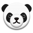 Panda Face on Samsung Galaxy S8 (April 2017)