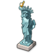 Statue of Liberty on Samsung Experience 8.5 (Galaxy Note S8)