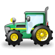 Tractor on Samsung Galaxy S8 (April 2017)
