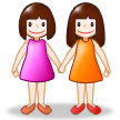 Two Women Holding Hands on Samsung Experience 8.5 (Galaxy Note S8)