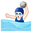 Woman Playing Water Polo on Samsung Experience 8.5 (Galaxy Note S8)