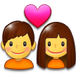 Couple With Heart on Samsung Experience 9.0