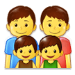 Family: Man, Man, Boy, Boy on Samsung Experience 9.0