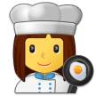 Woman Cook on Samsung Experience 9.0