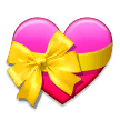 Heart With Ribbon on Samsung Experience 9.0