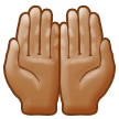 Palms Up Together: Medium Skin Tone on Samsung Experience 9.0