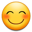 Smiling Face With Smiling Eyes on Samsung Experience 9.0