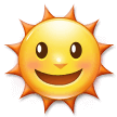 Sun With Face on Samsung Experience 9.0