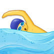 Person Swimming on Samsung Experience 9.0
