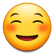 Smiling Face on Samsung Experience 9.0
