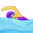 Woman Swimming on Samsung Experience 9.0