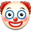 Clown Face on Samsung Experience 9.1