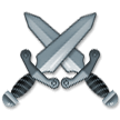 Crossed Swords on Samsung Experience 9.1