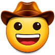 Cowboy Hat Face on Samsung Experience 9.1