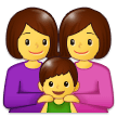 Family: Woman, Woman, Boy on Samsung Experience 9.1