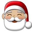 Santa Claus: Medium-Light Skin Tone on Samsung Experience 9.1