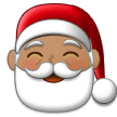 Santa Claus: Medium Skin Tone on Samsung Experience 9.1