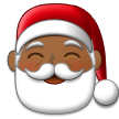 Santa Claus: Medium-Dark Skin Tone on Samsung Experience 9.1