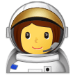 Woman Astronaut on Samsung Experience 9.1