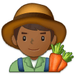 Man Farmer: Medium-Dark Skin Tone on Samsung Experience 9.1