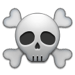 Skull and Crossbones on Samsung Experience 9.1