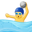Person Playing Water Polo on Samsung Experience 9.1
