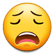 Weary Face on Samsung Experience 9.1