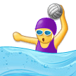 Woman Playing Water Polo on Samsung Experience 9.1