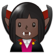 Woman Vampire: Dark Skin Tone on Samsung Experience 9.1