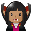 Woman Vampire: Medium Skin Tone on Samsung Experience 9.1