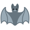 Bat on Twitter Twemoji 2.3