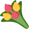 Bouquet on Twitter Twemoji 2.3