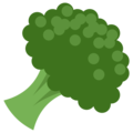 Broccoli on Twitter Twemoji 2.3