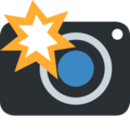 Camera With Flash on Twitter Twemoji 2.3