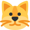 Cat Face on Twitter Twemoji 2.3
