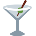 Cocktail Glass on Twitter Twemoji 2.3