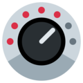 Control Knobs on Twitter Twemoji 2.3