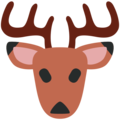 Deer on Twitter Twemoji 2.3
