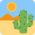 Desert on Twitter Twemoji 2.3