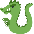 Dragon on Twitter Twemoji 2.3