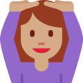 Person Gesturing OK: Medium Skin Tone on Twitter Twemoji 2.3