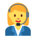Woman Office Worker on Twitter Twemoji 2.3