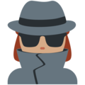 Woman Detective: Medium Skin Tone on Twitter Twemoji 2.3