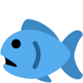 Fish on Twitter Twemoji 2.3