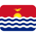 Kiribati on Twitter Twemoji 2.3