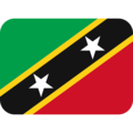 St. Kitts & Nevis on Twitter Twemoji 2.3