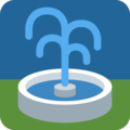 Fountain on Twitter Twemoji 2.3